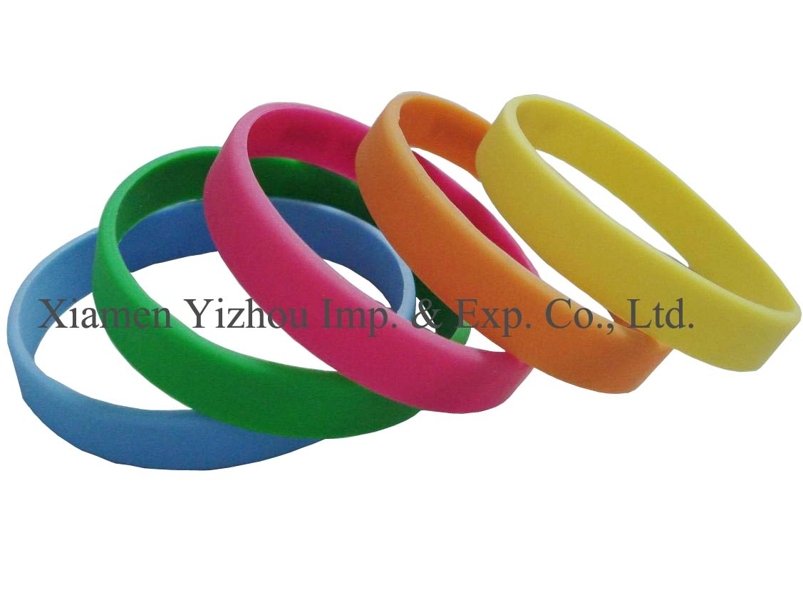 Silicone Bracelet(Single Color)