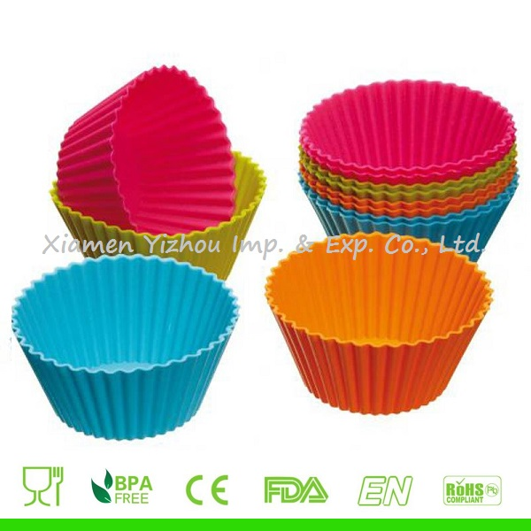 Silicone Cup Cake Mold